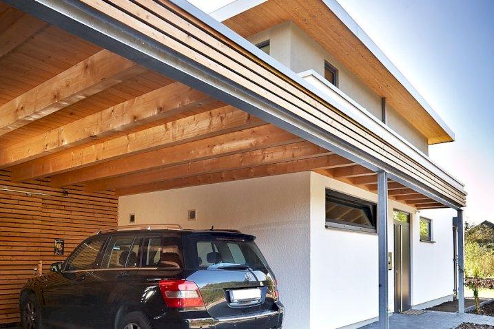 Einfamilienhaus mit Flachdach